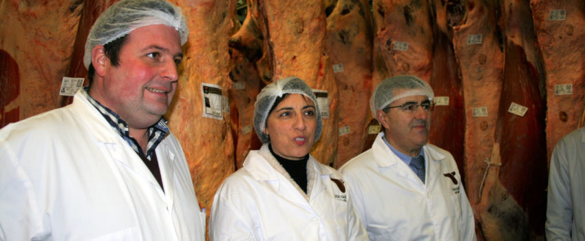 La IGP Vaca Y Buey De Galicia Certifica Las Primeras Canales De Carne En Frigoríficos Bandeira